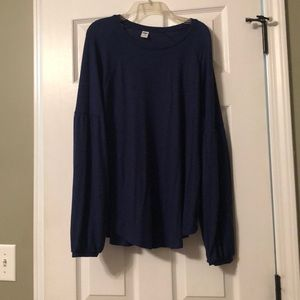 Blue old navy sweater